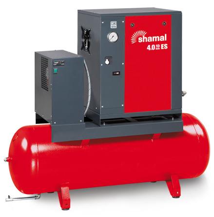 Skruvkompressor SE4,0-10-200 ES 5,5Hk 10bar