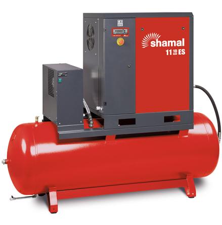 Skruvkompressor 11-10-270 ES 10.0Hk 10Bar