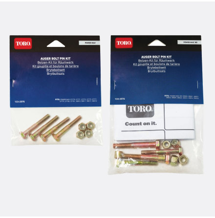 Toro brytbultsats Power Max HD 1-pack (4-bultar)