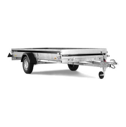 Skotervagn S1537U 750kg