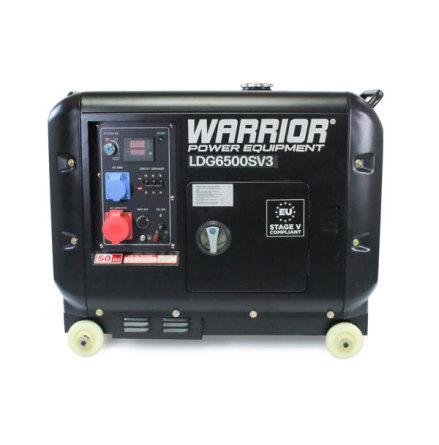 Dieselelverk Warrior 5500W, 3-fas, ATS