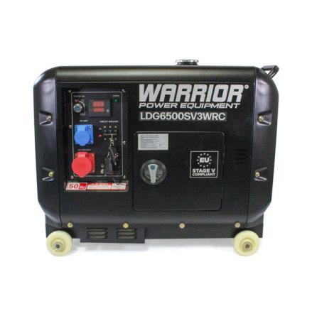 Dieselelverk Warrior 5500W, 3-fas, trådlös