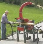 Barkningsmaskin traktor