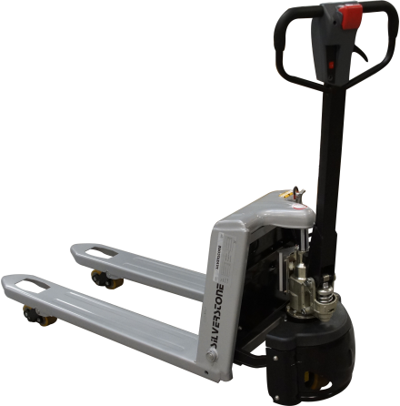 Semi-Electric pallet-truck