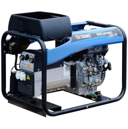 Motorsvets SDMO WELDARC 180 DE Dieselmotor
